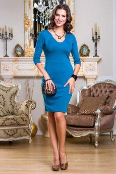 Платье с небольшим декольте Angela Ricci со скидкой