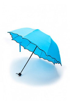 Зонт с проявляющимся рисунком, голубой Bradex