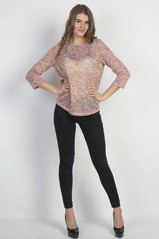 Розовая блуза с блеском Bast